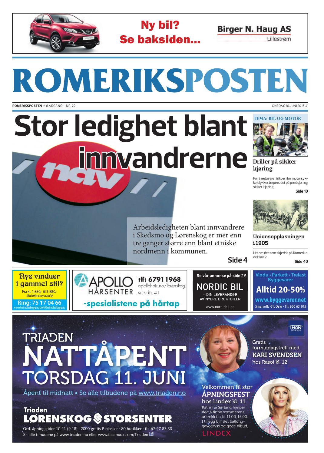 Romeriksposten-uke24-forside