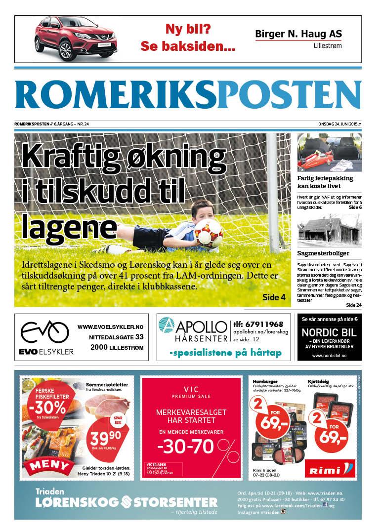 Romeriksposten-uke26-forside