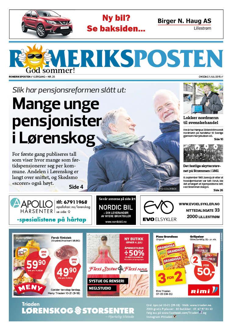Romeriksposten-uke27-forside