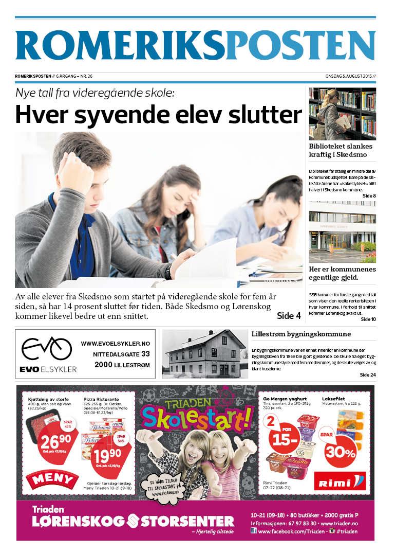 Romeriksposten-uke32-forside