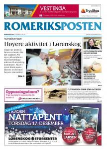 Romeriksposten_uke_51_forsida