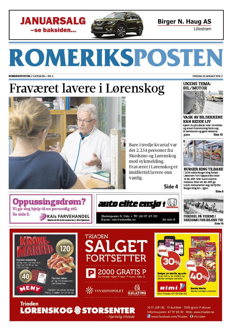 Romeriksposten_uke_3_2016_forside