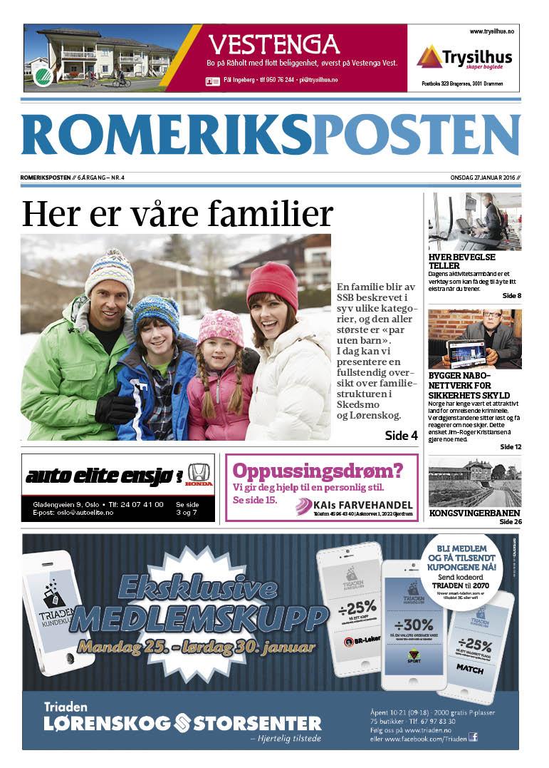 Romeriksposten_uke_4_2016_forside